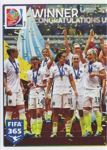 Winner - USA (1/2)