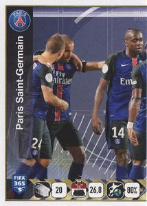 Paris Saint-Germain Team (1/2)