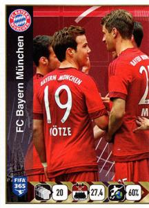 FC Bayern München Team (1/2)