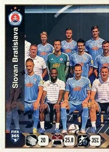 Slovan Bratislava Team (1/2)