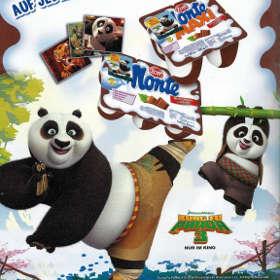 Samolepky Kung Fu Panda 3 Monte