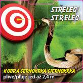 Střelec - Kobra černokrká