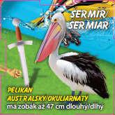 Šermíř - Pelikán australský