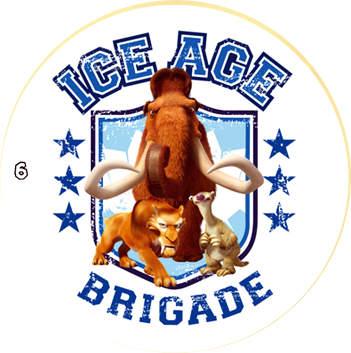 Doba ledová - žeton č.6