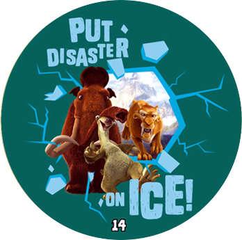 Doba ledová - žeton č.14
