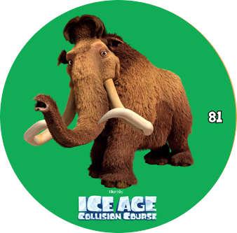 Doba ledová - žeton č.81