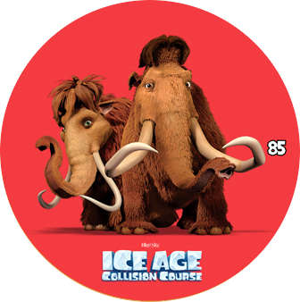 Doba ledová - žeton č.85