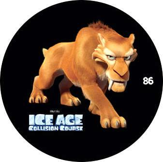 Doba ledová - žeton č.86
