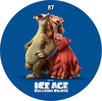 Doba ledová - žeton č.87