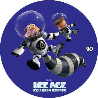 Doba ledová - žeton č.90
