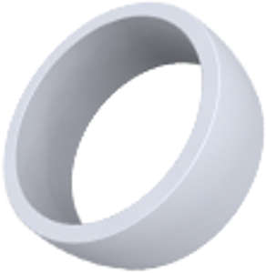 Kroužek šedý