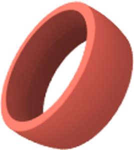Kroužek červený