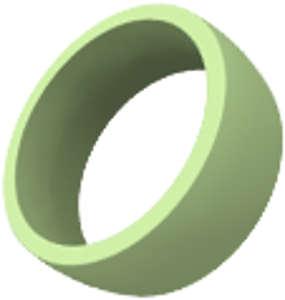 Kroužek zelený
