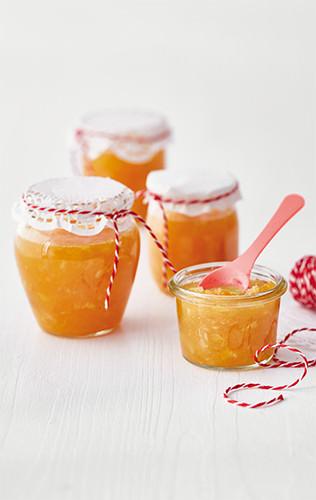 Rychlá vánoční pomerančová marmeláda