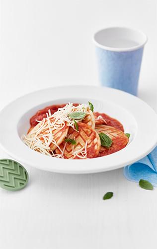 Těstoviny s rajčátky