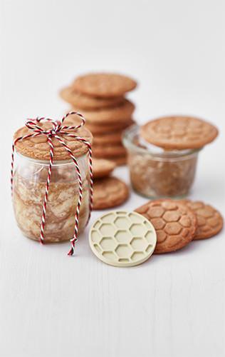 Medové sušenky s medovým máslem