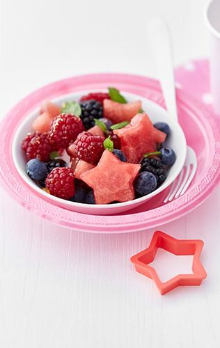 Hvězdný melounový salát