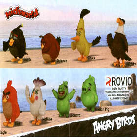 Kid´sworld Angry Birds