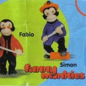 Kid´sworld Funny Monkies
