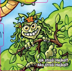 Jak straší Hejkal?