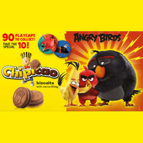 Chipicao Angry Birds 2017 žetony