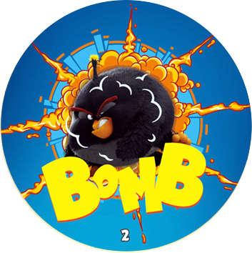 Žeton Angry Birds 2017 č. 2