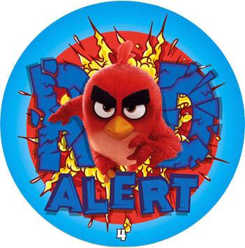 Žeton Angry Birds 2017 č. 4
