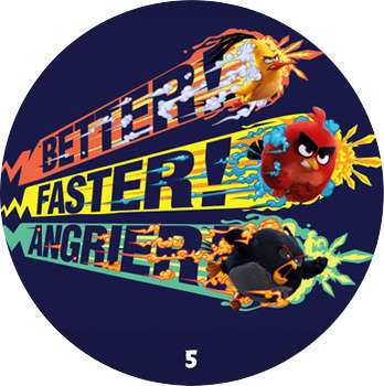Žeton Angry Birds 2017 č.5