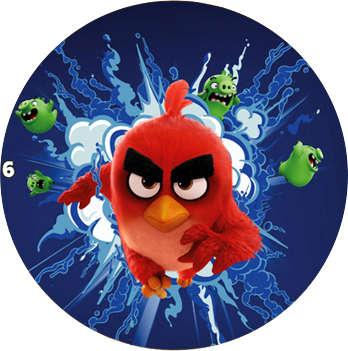 Žeton Angry Birds 2017 č. 6