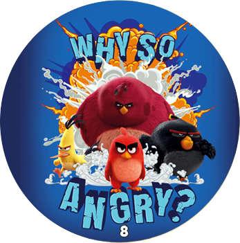 Žeton Angry Birds 2017 č. 8