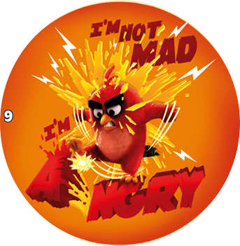 Žeton Angry Birds 2017 č. 9