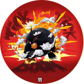 Žeton Angry Birds 2017 č. 11