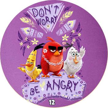 Žeton Angry Birds 2017 č. 12
