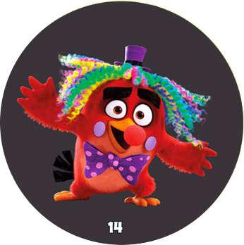Žeton Angry Birds 2017 č. 14