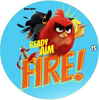 Žeton Angry Birds 2017 č. 15