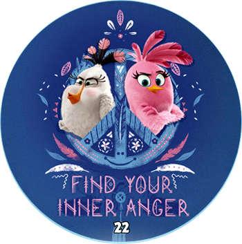 Žeton Angry Birds 2017 č. 22