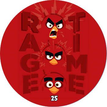 Žeton Angry Birds 2017 č. 25