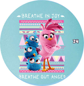 Žeton Angry Birds 2017 č. 24