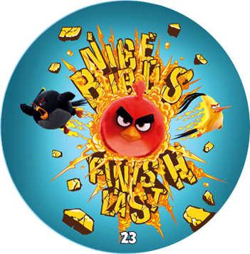 Žeton Angry Birds 2017 č. 23