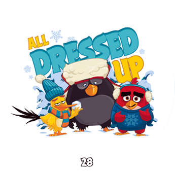 Žeton Angry Birds 2017 č. 28