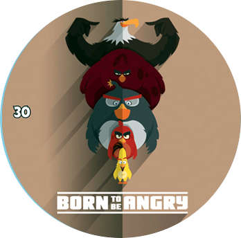 Žeton Angry Birds 2017 č. 30