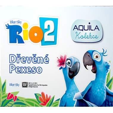 Dřevěné pexeso Rio 2 Aquila kolekce