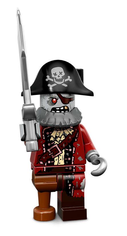 Zombie pirát