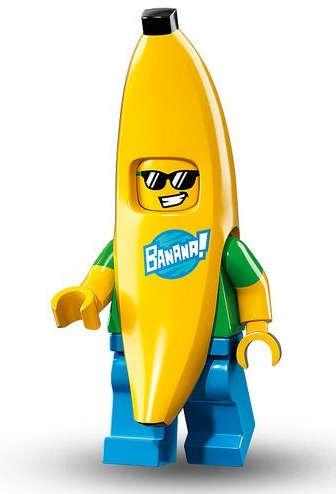 Chlapík v převleku banánu