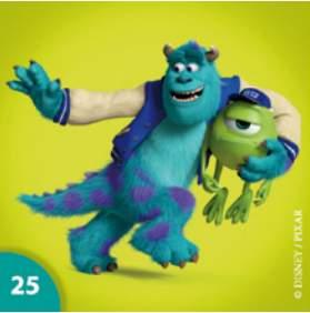 Sulley a Mike Wazowski