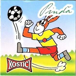 Pinďa hraje fotbal
