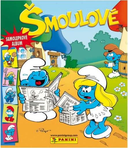 Samolepkové album Šmoulové