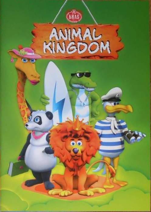 Samolepkové album Animal Kingdom