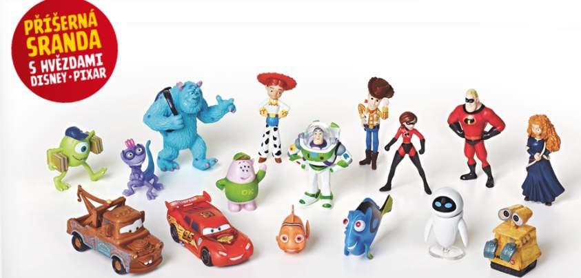 Billa - Příšerná sranda s hvězdami Disney Pixar